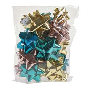 Wilko Starry Night Bow Bag Assorted 25pk - Free Store Collection 25p