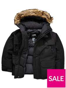 Boys The North Face Mcmurdo Down Coat £89 @ Very - Free c&c