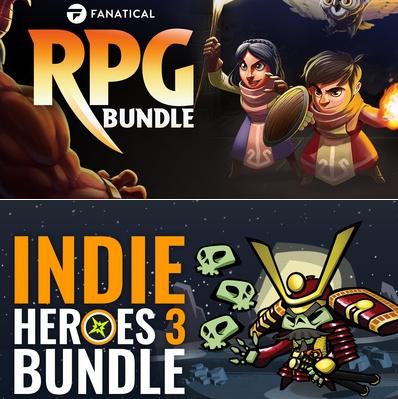 Indie Heroes 3 Bundle £1.29 (8 Games) / RPG Bundle (8 Games) £2.19 @ Fanatical [Redeem via Steam]
