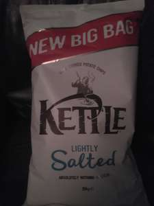 Lightly salted Kettle chips 250g.  £1.00 in Poundstetcher