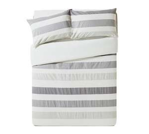 100% Cotton King Duvet Set Was £36.99 @ Argos now £10.99