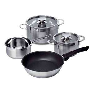 Bosch Four Piece Pan Set for Induction Hobs £17.97 / £20.97 delivered @ Tesco - Appliances Direct