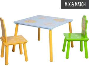 HOME Animal Table and 2 Chairs - Multicoloured £33.99 @ Argos
