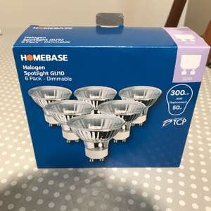 6x GU10 Bulbs - Homebase Middlebrook £1 instore