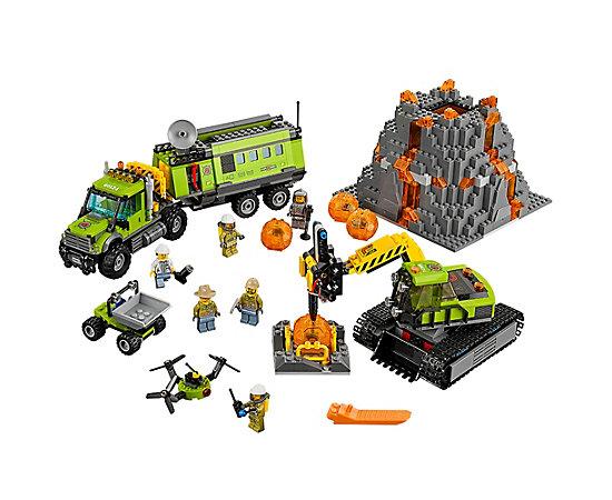 Lego Volcano exploration base 60124 £59.49 @ Lego