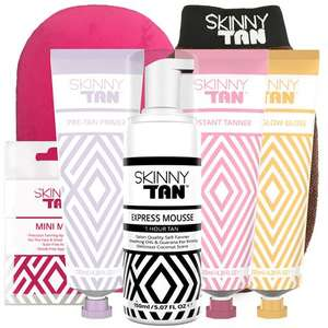 Skinny Tan Mousse Express Get 6 more items for FREE! + Free Next Day Delivery £29.99 @ Skinny Tan