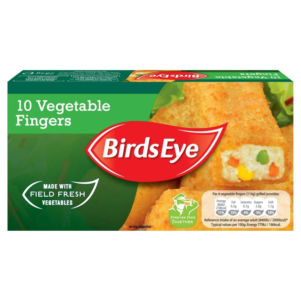 Birds Eye 10 Vegetable Fingers (284g) £1 @ Iceland (2 For £1.50)