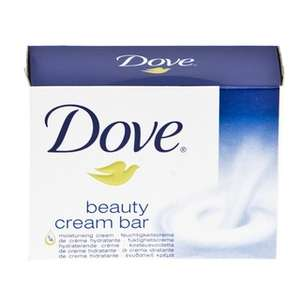 Dove White Soap (100g) 45p @ B&M