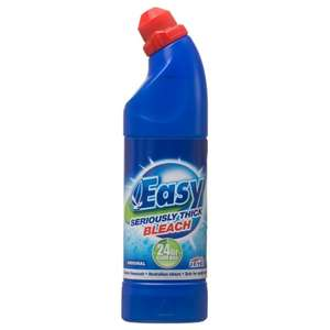 Easy Bleach Original (750ml) 39p @ B&M