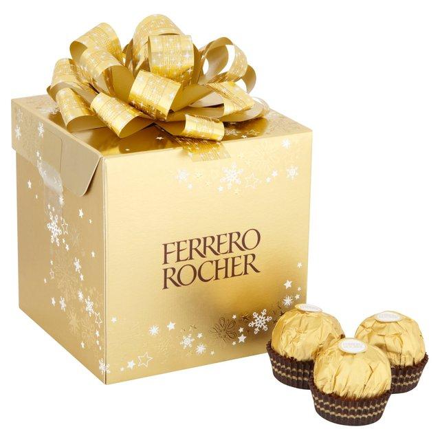 Ferrero Rocher Cube Present 225g 18 per pack £3 @ Ocado