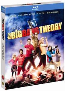 The Big Bang Theory: The Complete Fifth Season (Blu-Ray) £3.49 Delivered @ Music Magpie (£2.24 Pre Owned)