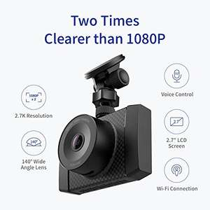 Yi Dashcam £89.99- £19.00 promotion = £70.99 Sold by YI Official Store UK and Fulfilled by Amazon.