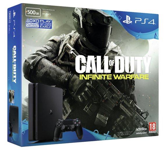PS4 Slim 500GB Call of Duty Infinite Warfare Console Bundle - £189.99 at ARGOS