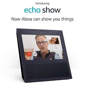 Buy 2 Echo Show devices and save £100 - £299.98 at Amazon with code