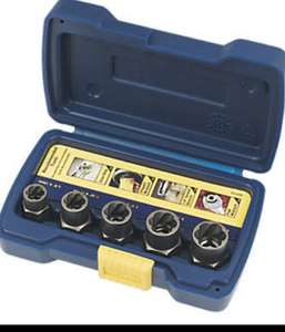 Irwin Bolt Grip Nut Remover 5 piece Set £11.99 @ Screwfix C&C