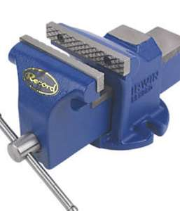 Irwin Record Pro Workshop Vice £18.99 @ Screwfix C&C