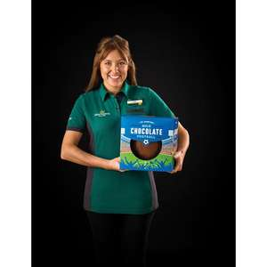 Morrisons gigantic 1kg chocolate football £1.50 online & instore