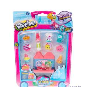 Shopkins 12 Pack Season 8 World Vacation (3 packs for £5) instore at Claire's accessories