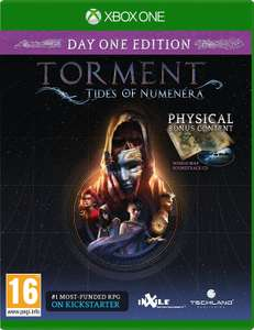 Torment: Tides of Numenera - Day 1 Edition Xbox One £2.99 @ Game (Amazon Prime price match)