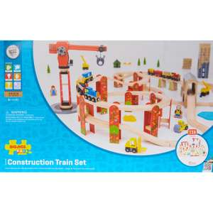BIGJIGS RAIL 116 Piece Construction Train Set £39.99 at TK Maxx