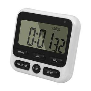 Multifunction Digital Kitchen Clock Cooking Timer Countdown £3.03 Banggood