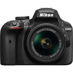 Nikon D3400 at amazing price only for £311.99 @ Toby Deals