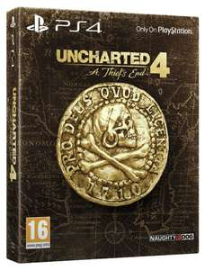 Uncharted 4: A Thief's End Special Edition PS4 £18.99 Argos eBay Store