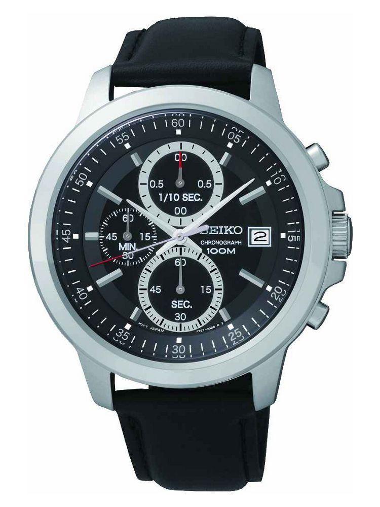 Seiko Men's Black Dial Chrono Watch £34.99 Argos eBay Store