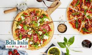 Edit 6/2 New code - Bella Italia: Two-Course Italian Meal for Two now £15.30 w/code (£8.10pp)  @ Groupon