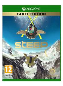 Steep Gold Edition (Xbox One) £16.49 With Code or £23.56 Delivered with No Code @ Ubishop (When using code + £8.99 Delivery or add another item +£3.51 For free delivery)