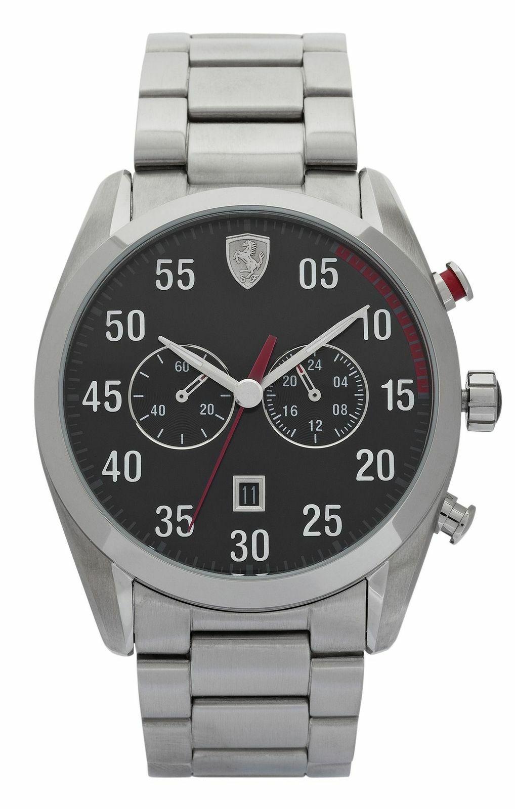 Scuderia Ferrari Men's D50 Stainless Steel 42mm Watch @ Argos eBay £34.99 Delivered