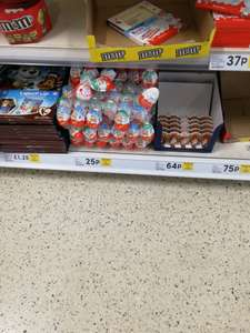 Kinder Joy Tesco instore 25p
