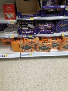 Cadbury Heroes Christmas crackers 50p at Tesco instore