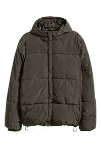 Mens Padded Jacket - Khaki Green £14.99 delivered @ H&M
