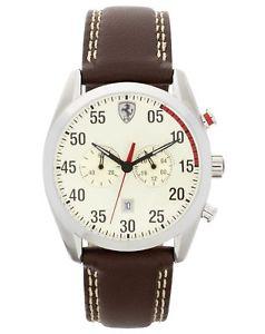 Argos eBay and a Scuderia  Ferrari leather strap watch - £32.99