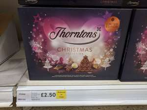 Thornton's Christmas Selection Box 457g - £2.50 (75% off) Tesco In-store