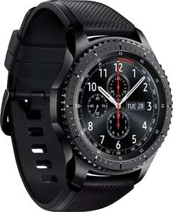 Samsung Galaxy Gear S3 Frontier SM-R760 Black / Space Grey, A Grade Prestine,£270 available online or in store at CEX !
