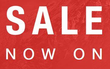 North Face sale 40% + extra 5% off via quidco