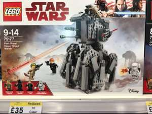 Lego Star Wars - First Order Scout Walker £35 @ Tesco Instore Spring Hill