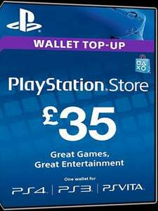 Playstation PSN Network Card £35 for £28.51/£25 for £20.35 @ MMOGA