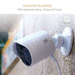 YI Outdoor Surveillance Camera, 1080P HD Wireless Security Bullet Camera Weatherproof IP Camera System with Two-Way Audio, Night Vision, Motion Detection Was £99.99 Now £69.99 with promo Sold by Seeverything UK and Fulfilled by Amazon