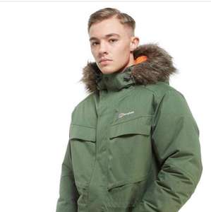 Berghaus Down Parka sizes L back in stock at £160 @ JD sports