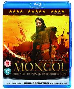 Blu-ray's - Mongol - The Rise to power of Genghis Khan, Minions, Toy Story 2 and others (Poundland Caerphilly)