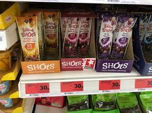 Whitworths shots £0.30 Sainsbury's