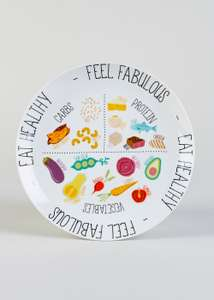 Healthy Eating Portion Plate £3 Matalan - Free c&c
