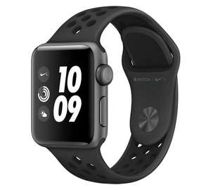 Apple Watch 3 Nike+ GPS 38mm - SG Anthracite Case / Black Band £299 @ Argos