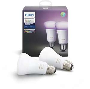 2 Pack Hue Colour Bulbs @ Amazon.es works out at 37.75 per bulb delivered