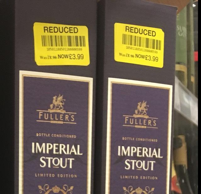 Fuller's Imperial Stout £3.99 @ Waitrose instore