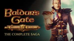 Baldur's Gate Complete Saga (BG: Enhanced Edition, BG2: Enhanced Edition & BG: Siege of Dragonspear) - (PC - Steam) - £11.99 at Fanatical (73% Off)