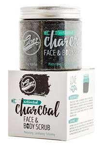 ClearDOT Premium Bodycare Activated Charcoal Body Scrub and Facial Scrub, 250g - Sold by ClearDot / Fulfilled by Amazon - £12.99 Prime / £16.98 non-Prime